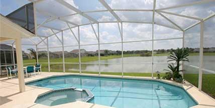 Orlando Villas. Pool area