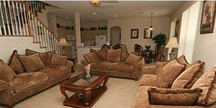 Orlando Villas.Family Room