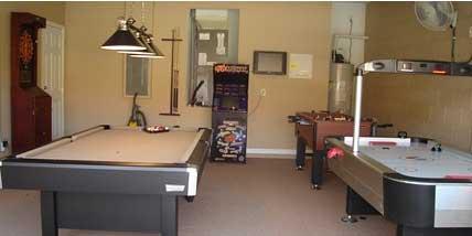 Orlando Villas. Games Room