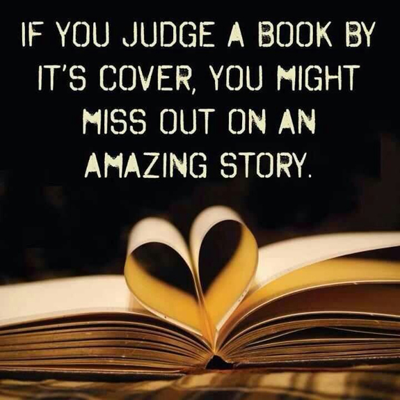 Food Book Cover Quote ~ Dont judge a book by its cover quotes quotesgram