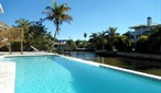 Island Villa with 33 Foot Infinity Pool, Dolphin Visits